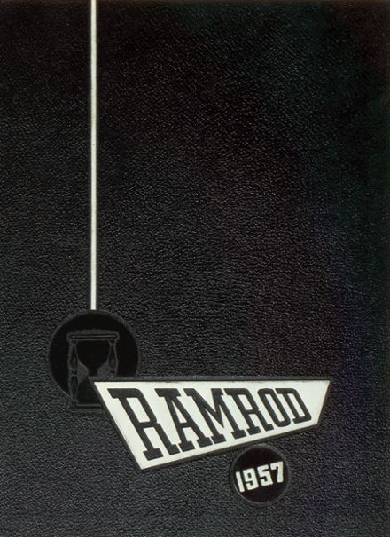 1957 St. Frederick High School Yearbook Cover
