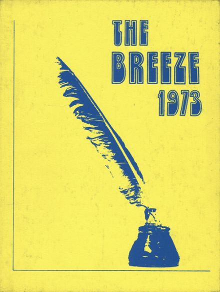 1973 Albion High School Yearbook Cover