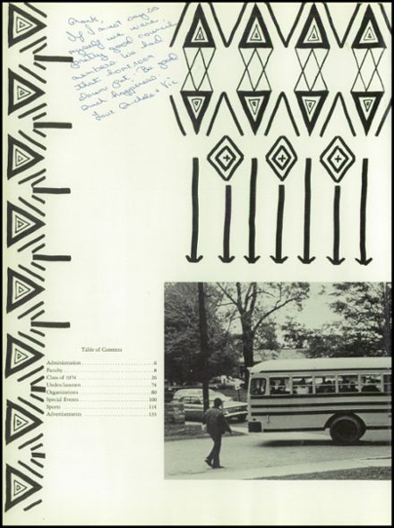 1974 Stratford High School Yearbook Page 6