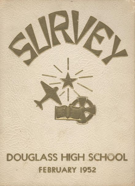 1952 Frederick Douglass High School 450 Yearbook Cover