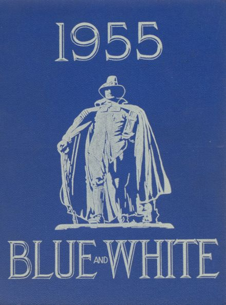 1955 Classical High School Yearbook Cover