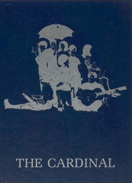 1970 Triad High School Yearbook Cover