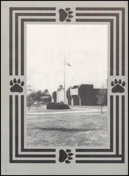 1981 Olney High School Yearbook Page 6