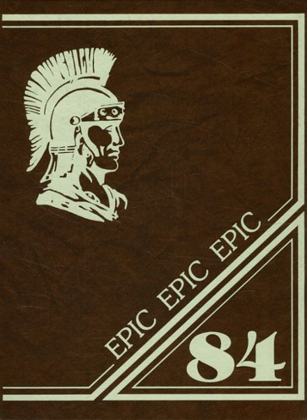 1984 York County Area Vo-Tech School Yearbook Cover
