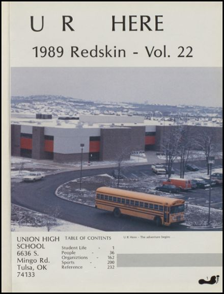 1989 Union High School Yearbook Page 5