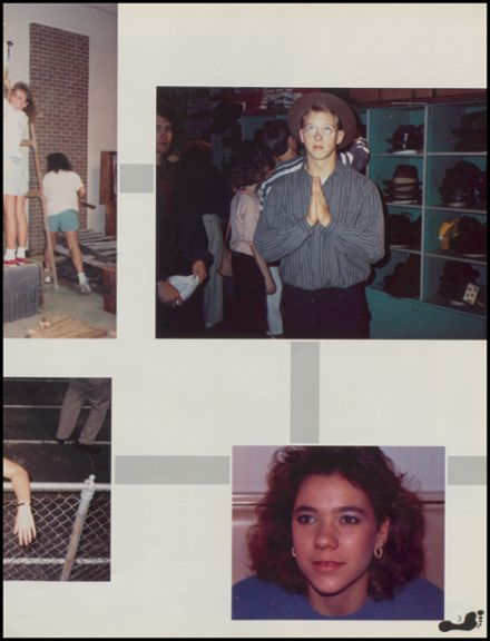1989 Union High School Yearbook Page 7