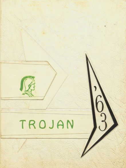 1963 Alexander High School Yearbook Cover
