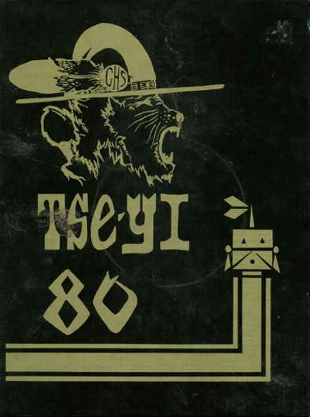1980 Chinle High School Yearbook Cover