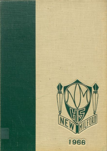 1966 New Milford High School Yearbook Cover