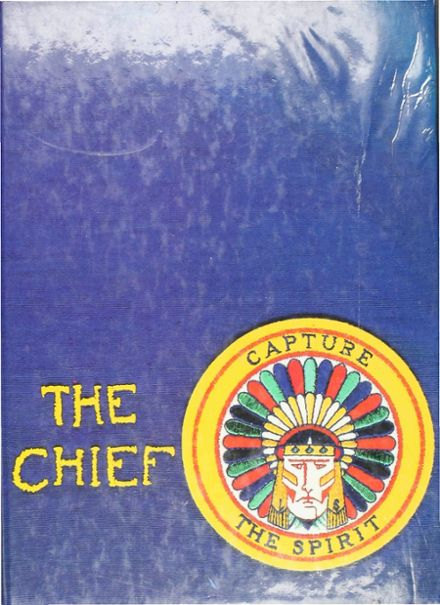 1986 Keller High School Yearbook Cover