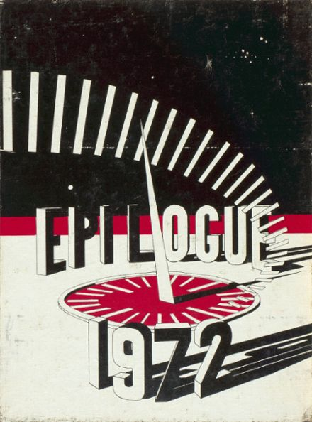 1972 Red River High School Yearbook Cover