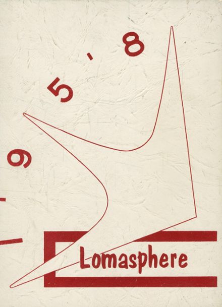 1958 Loma Linda Academy Yearbook Cover