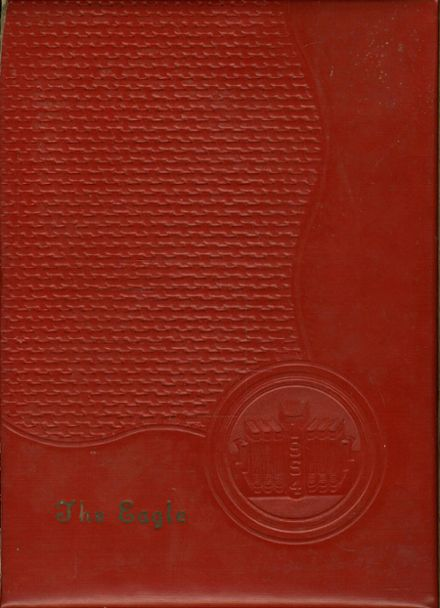 1954 Stayton Union High School Yearbook Cover