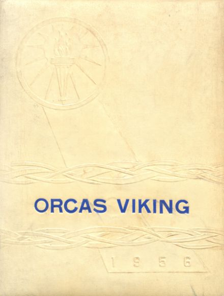 1956 Orcas Island High School Yearbook Cover
