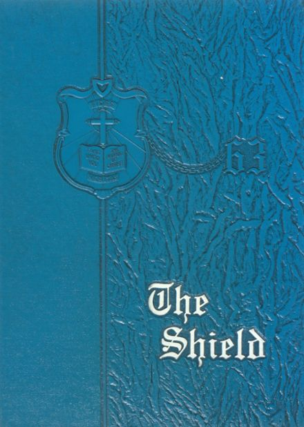 1963 St. Anthony's High School Yearbook Cover