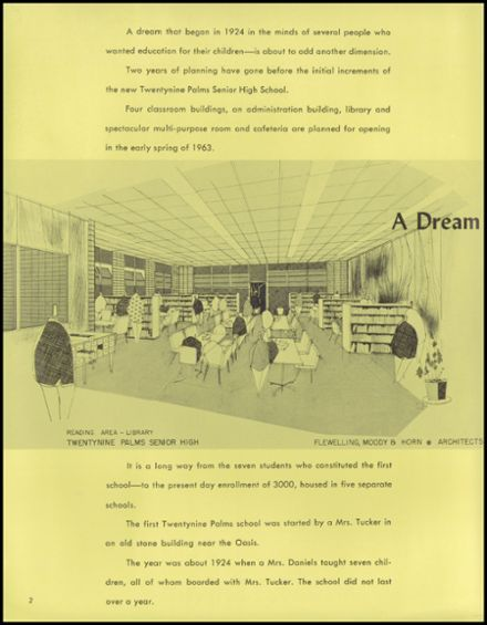 1962 Twentynine Palms High School Yearbook Page 6