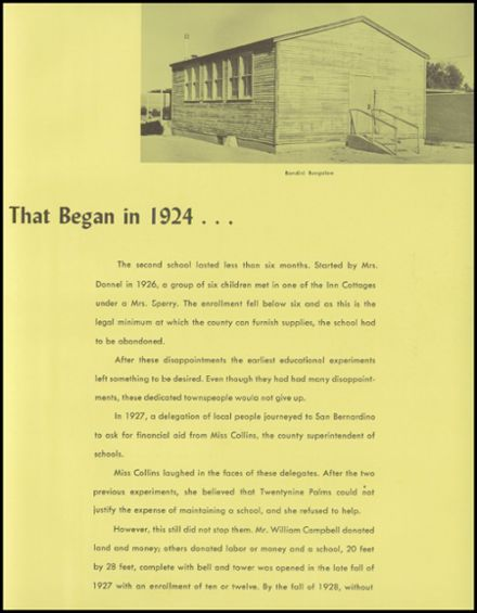1962 Twentynine Palms High School Yearbook Page 7