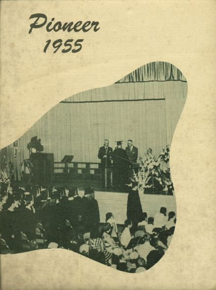 1955 Bentley High School Yearbook Cover