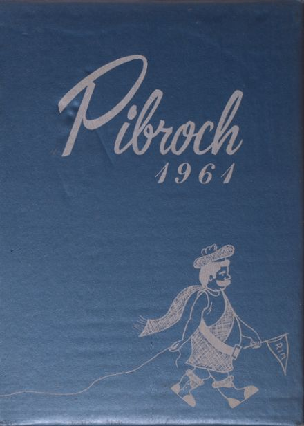 1961 Rim of the World High School Yearbook Cover