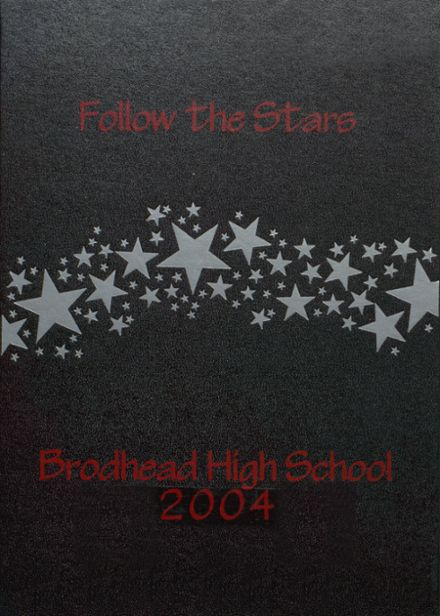 2004 Brodhead High School Yearbook Cover