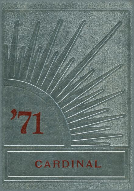1971 Brighton High School Yearbook Cover
