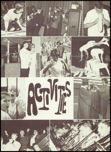 1968 Argentine High School Yearbook Page 7