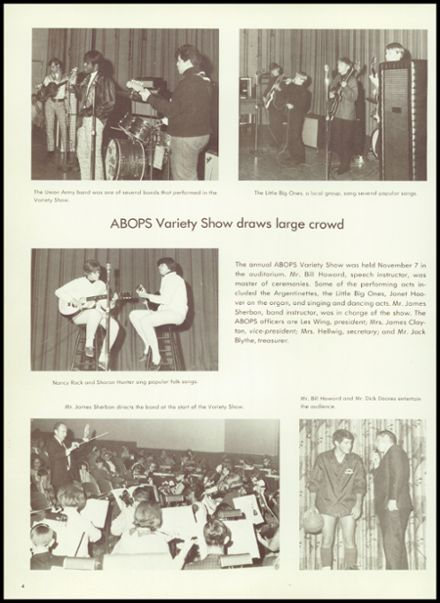 1968 Argentine High School Yearbook Page 8