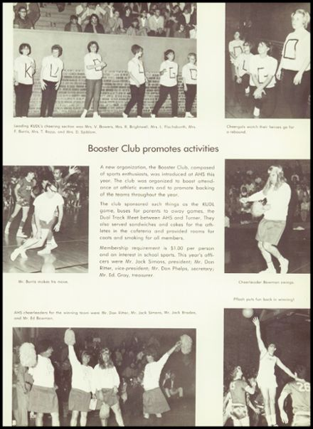 1968 Argentine High School Yearbook Page 9