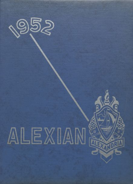 1952 Central High School Yearbook Cover