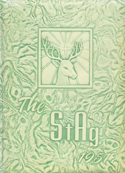 1951 St. Agnes Academy Yearbook Cover