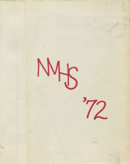 1972 New Milford High School Yearbook Cover