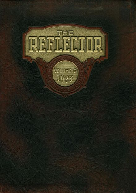 1923 South Whitley High School Yearbook Cover