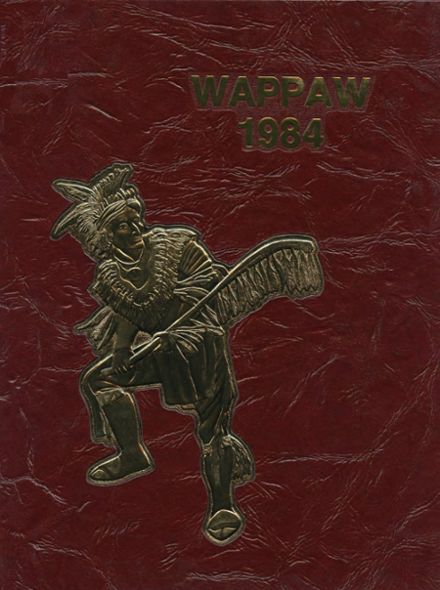 1984 Paw Paw High School Yearbook Cover
