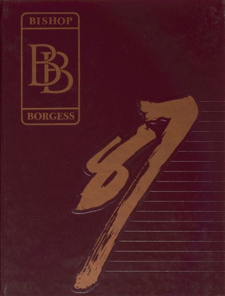 1987 Bishop Borgess High School Yearbook Cover