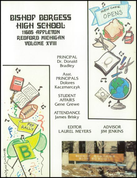 1987 Bishop Borgess High School Yearbook Page 5