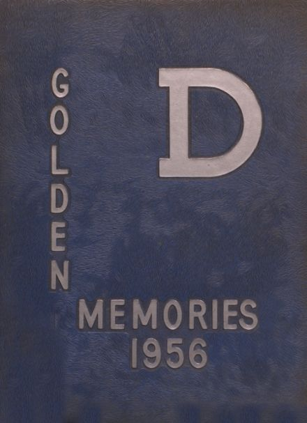 1956 Decatur High School Yearbook Cover