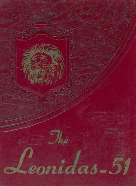 1951 La Feria High School Yearbook Cover