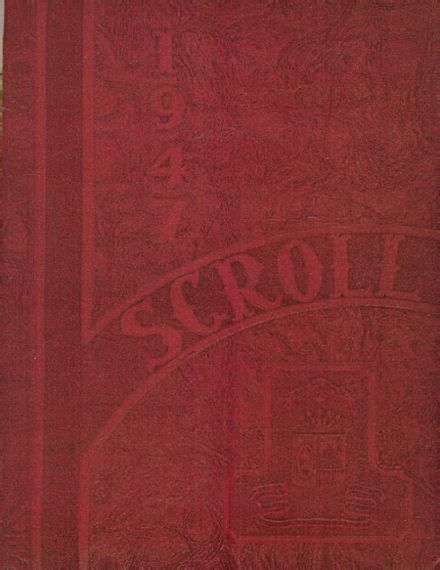 1947 St. Ursula Academy Yearbook Cover