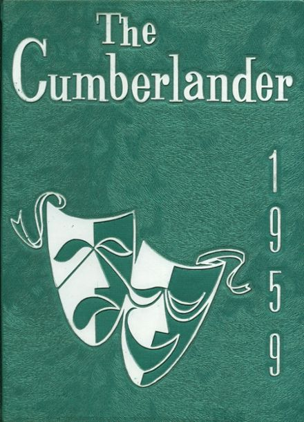 1959 Cumberland Township High School Yearbook Cover