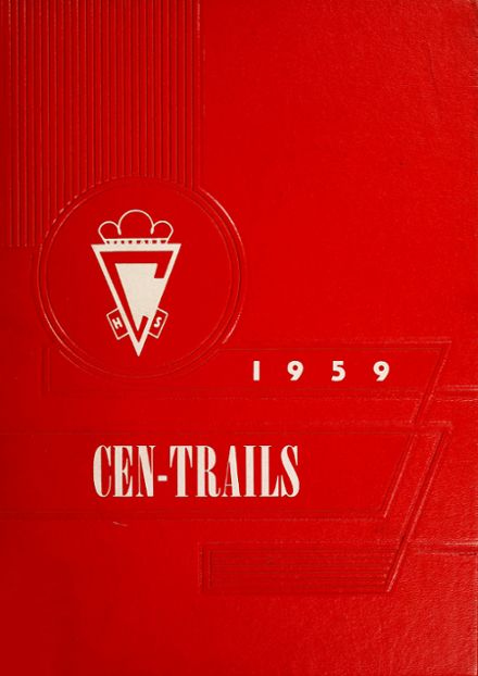 1959 Adams Central High School Yearbook Cover