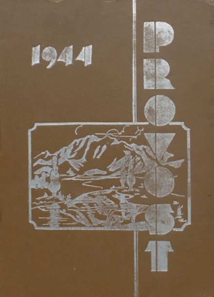 1944 Provo High School Yearbook Cover
