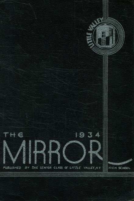 1934 Central High School Yearbook Cover