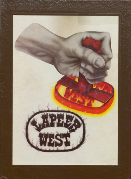 1981 Lapeer West High School Yearbook Cover
