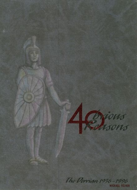 1996 Derry Area High School Yearbook Cover