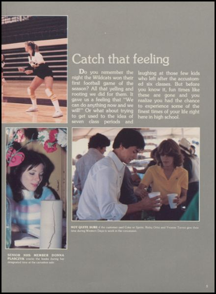 1983 Yorktown High School Yearbook Page 9