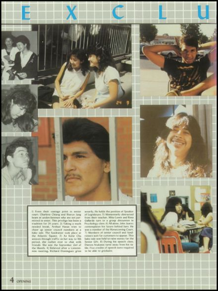 1986 Alhambra High School Yearbook Page 8