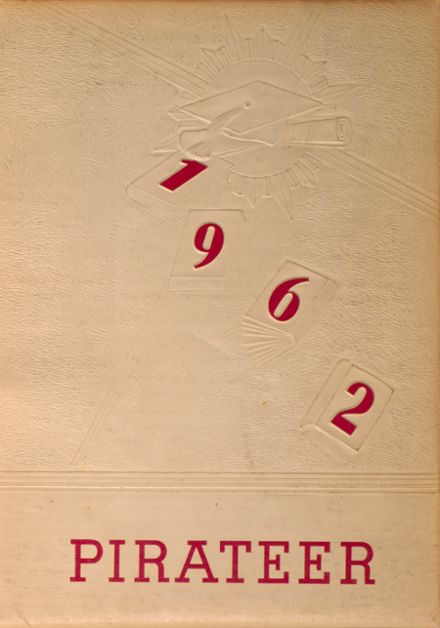 1962 Cardington-Lincoln High School Yearbook Cover