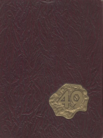 1949 Long Beach Polytechnic High School Yearbook Cover
