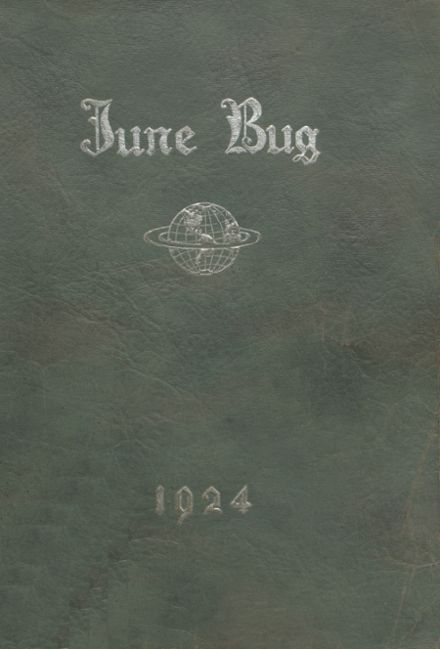 1924 Catonsville High School Yearbook Cover