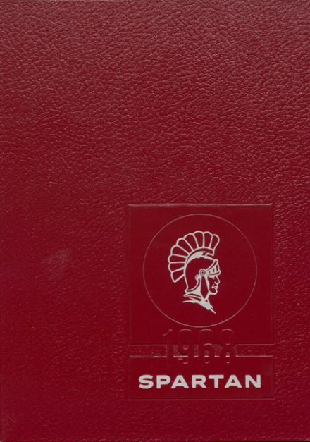 1968 Bixby High School Yearbook Cover